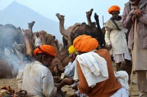 trading at Pushkar